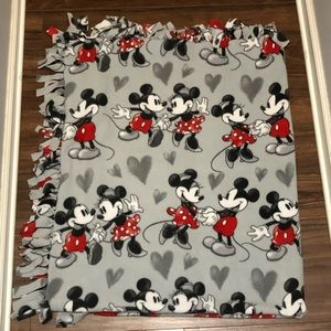 Mickey and Minnie Mouse Fleece Blanket